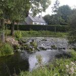 Photo de la rivière le Guindy à quelques kilomètres de Lannion