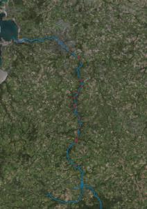 Les quinze moulins encore présents sur le Léguer (carte)