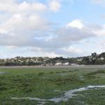 La plage de Saint-Michel-en-Grève, le 19 septembre. ©Aurélien Defer